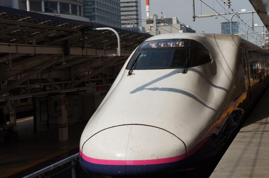仙台行きの新幹線
