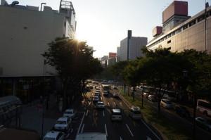 仙台の青葉通り