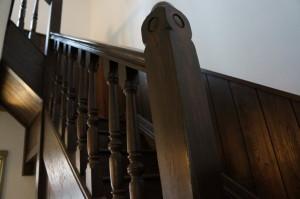 青根洋館の階段