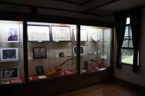 青根洋館展示室