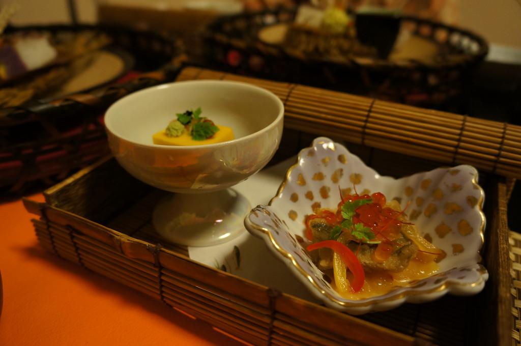 観山聴月夕食前菜