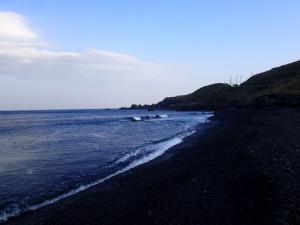 釜の尻海岸の風景