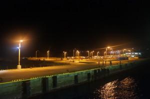 三宅島の三池港