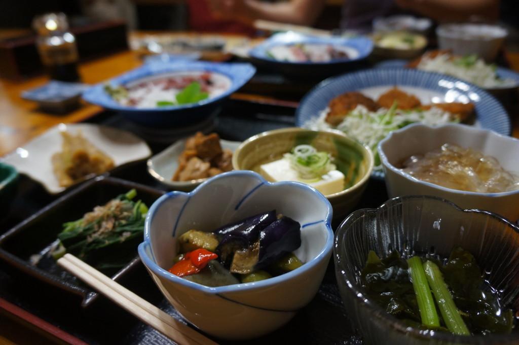 民宿遊の夕食
