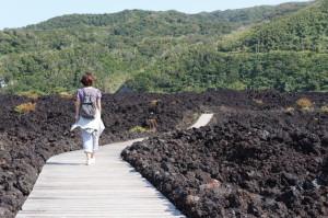 溶岩遊歩道