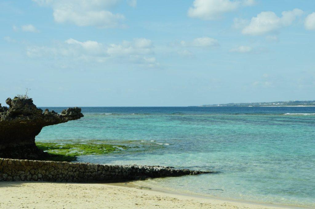 美ら海水族館のビーチ