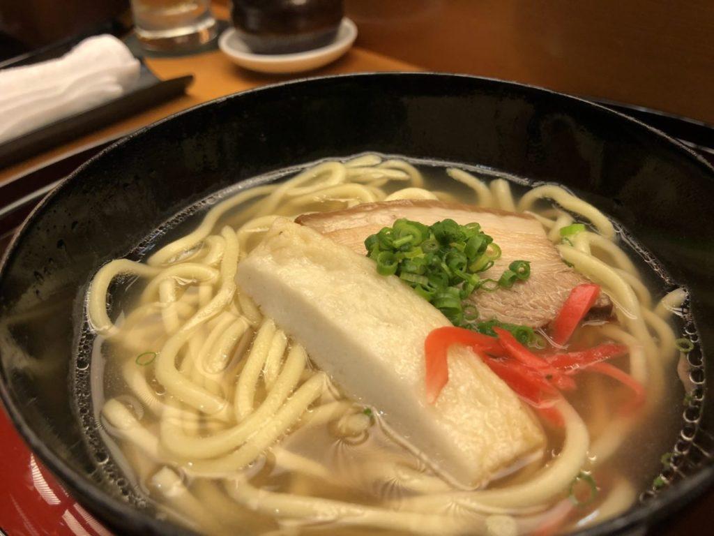 ANAインターコンチネンタル石垣リゾートの沖縄料理石垣の四品目