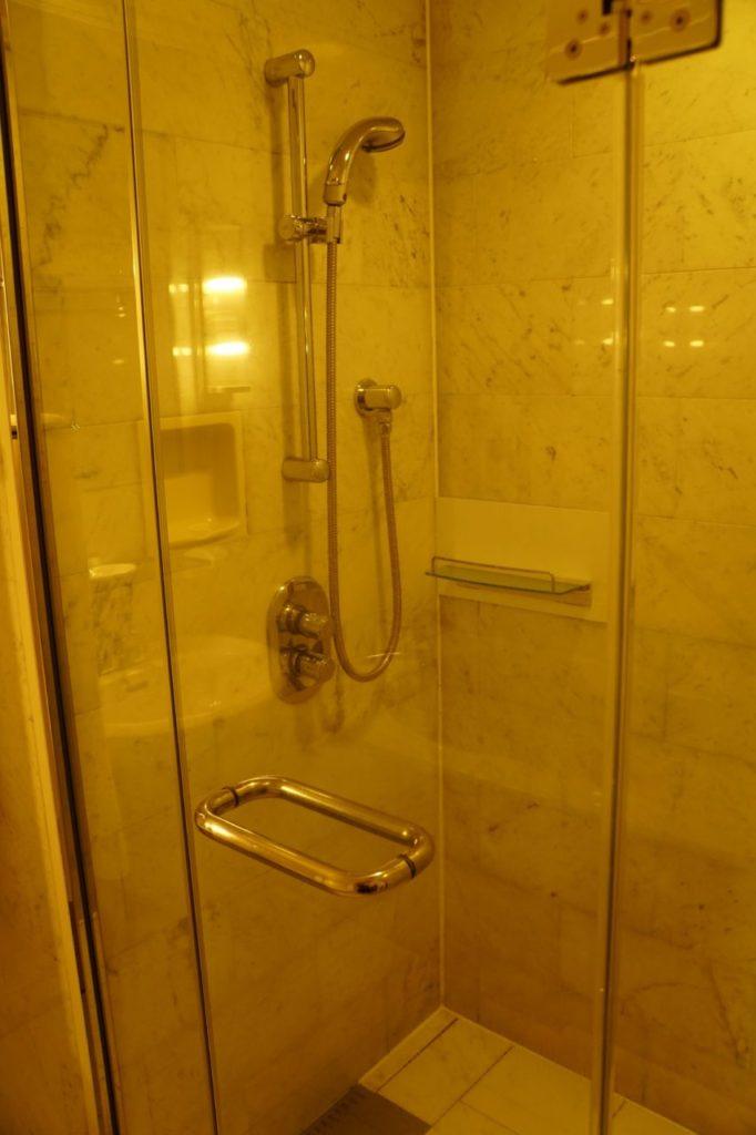 ANAインターコンチネンタル石垣リゾートの部屋のシャワー