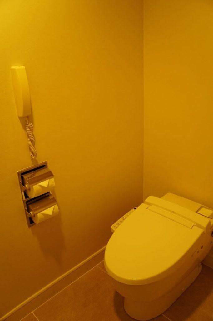 ANAインターコンチネンタル石垣リゾートの部屋のトイレ