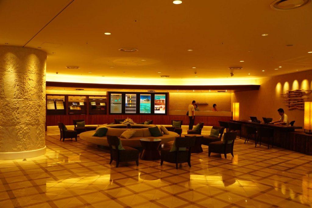 ANAインターコンチネンタルのリゾートセンター