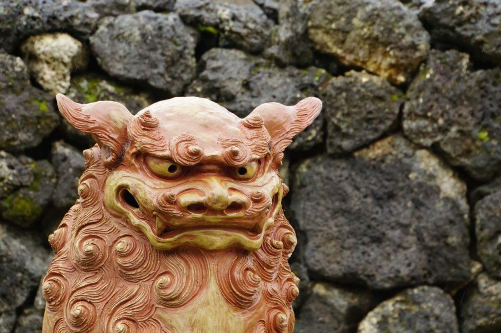 石垣島やいま村のシーサー