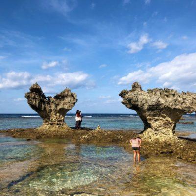 今帰仁城跡と古宇利島-美しすぎる沖縄の遺跡と海