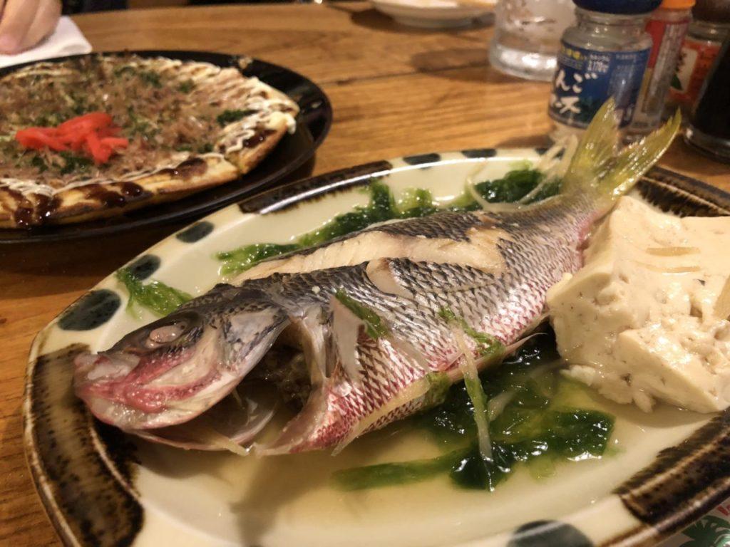 石垣島あだん亭の島魚のマース煮