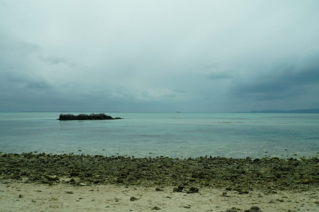 竹富島のカイジ浜