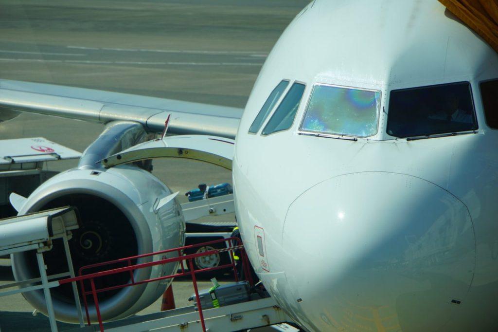 フィリピン航空の飛行機
