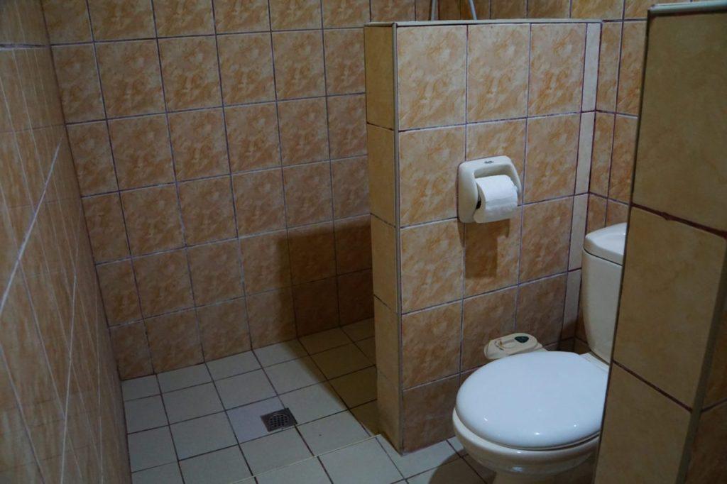 ノバビーチデラックスルームのトイレ