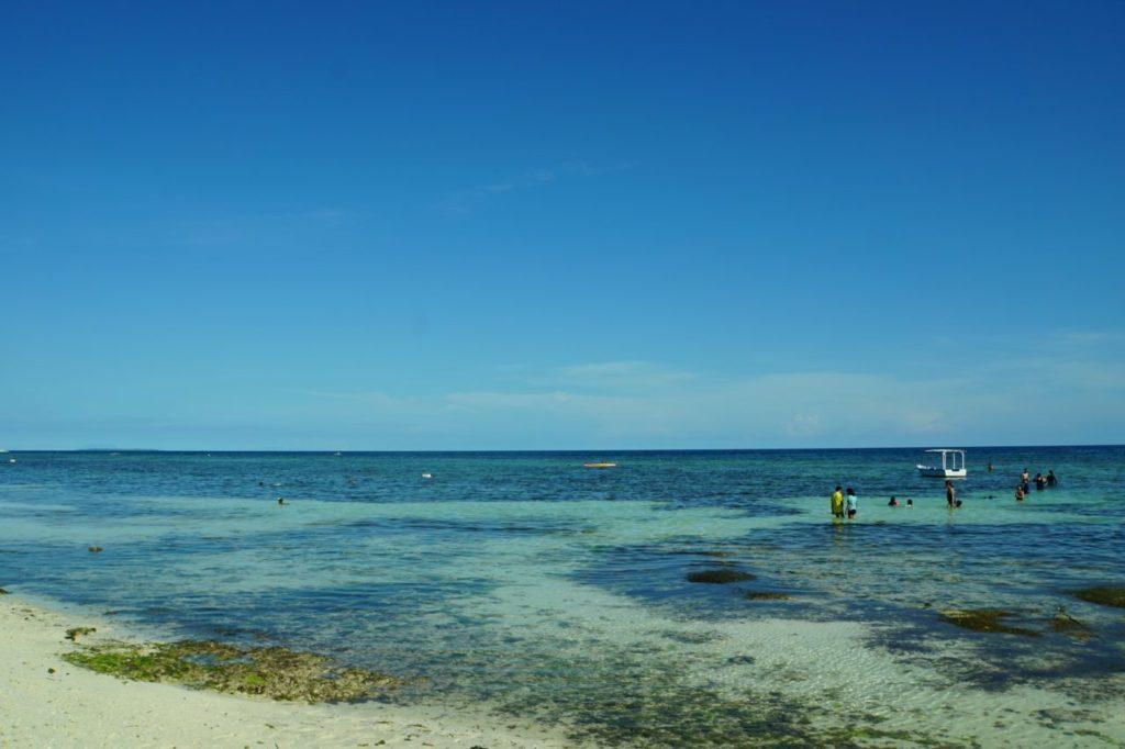 ノバビーチリゾートの美しい海