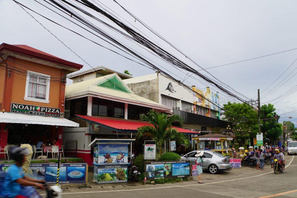 パングラオ島のメインストリート