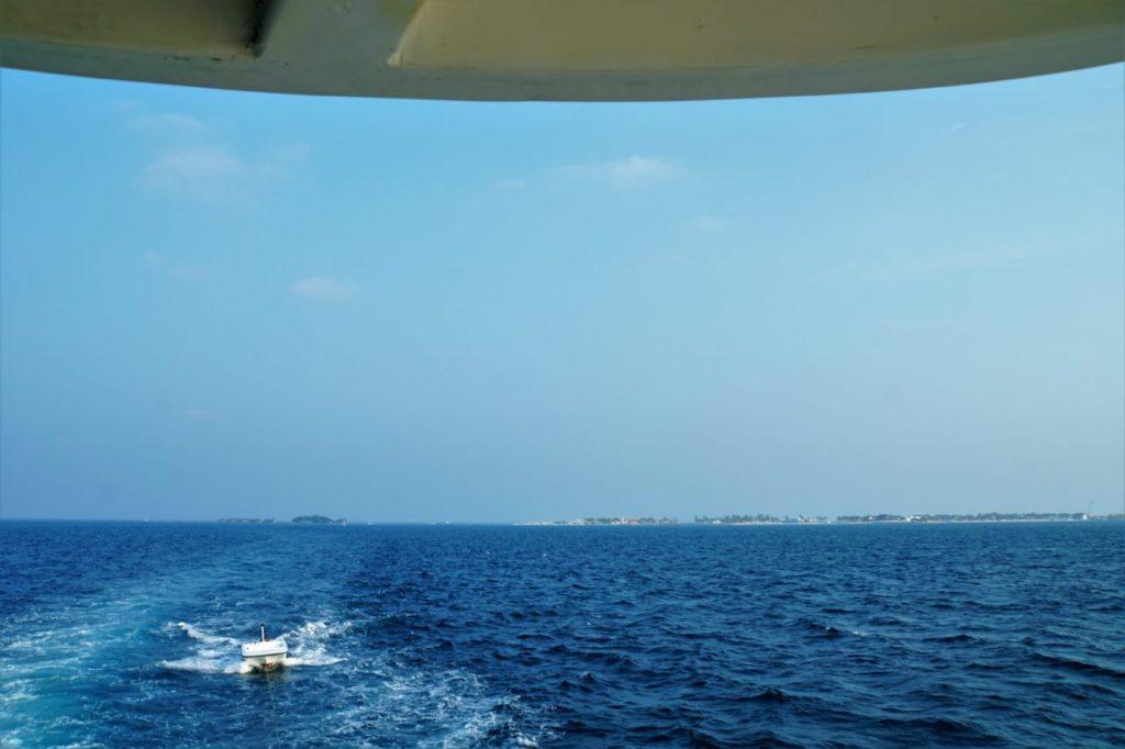 アイランドサファリロイヤル号からみるモルディブの海