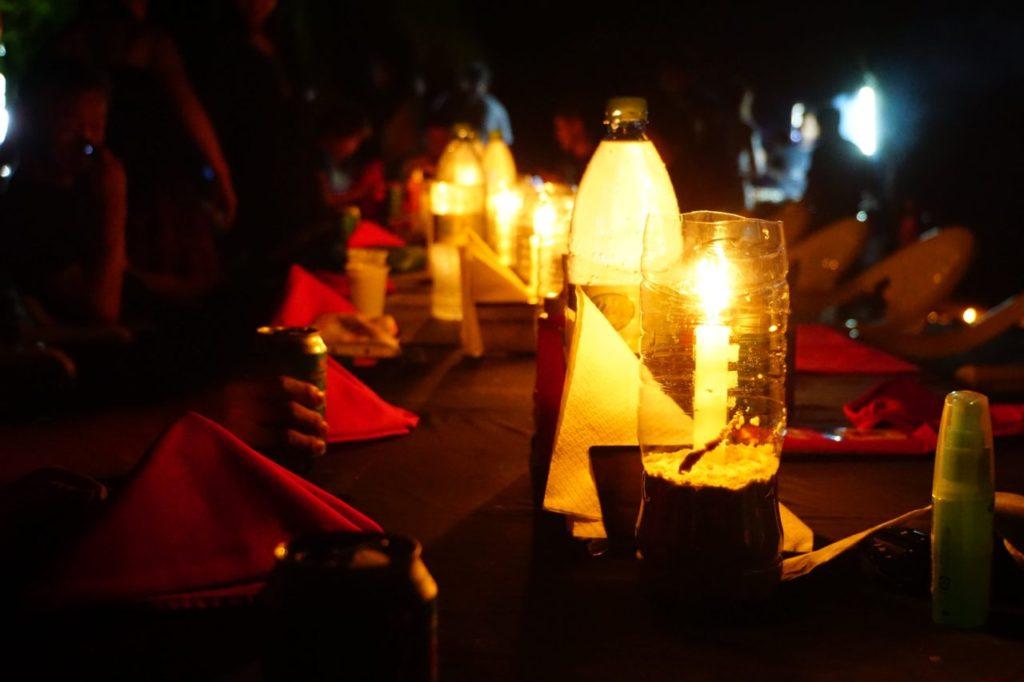 モルディブのアイランドサファリは無人島で楽しむロマンティックディナー
