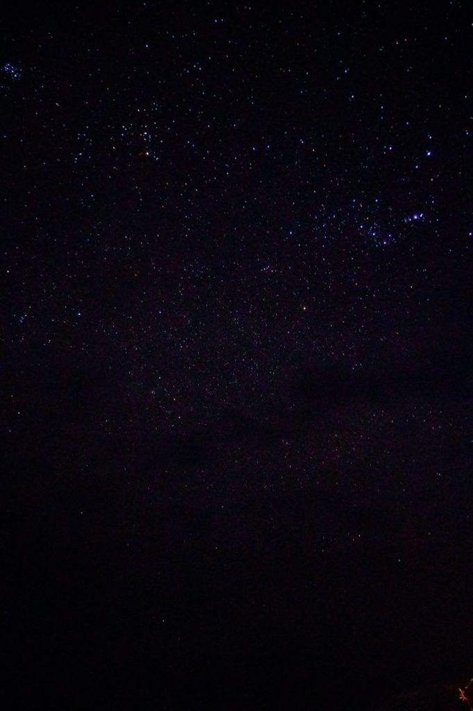 モルディブのアイランドサファリが立ち寄るが無人島で撮った星空