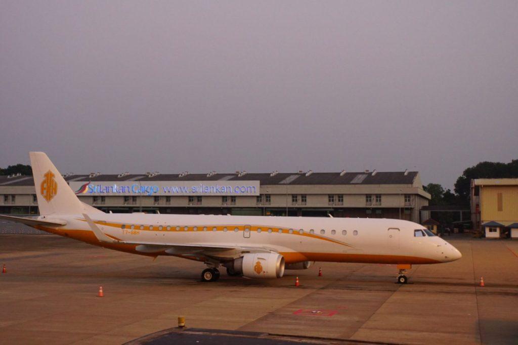 スリランカのコロンボにあるバンダラナイケ国際空港