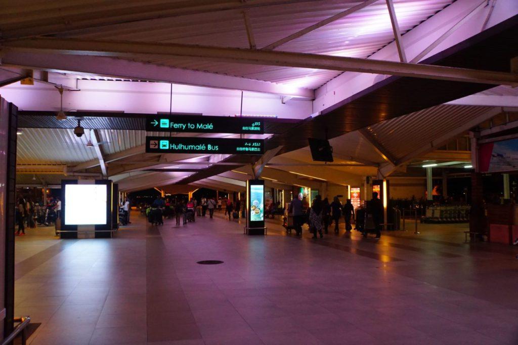 モルディブのマレにあるヴェラナ国際空港