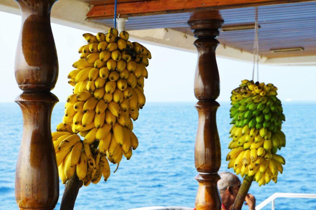 アイランドサラリのバナナ