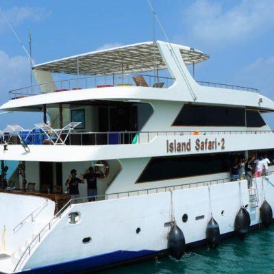 モルディブでダイビングクルーズ!アイランドサファリロイヤル号の船内や客室をご紹介♪