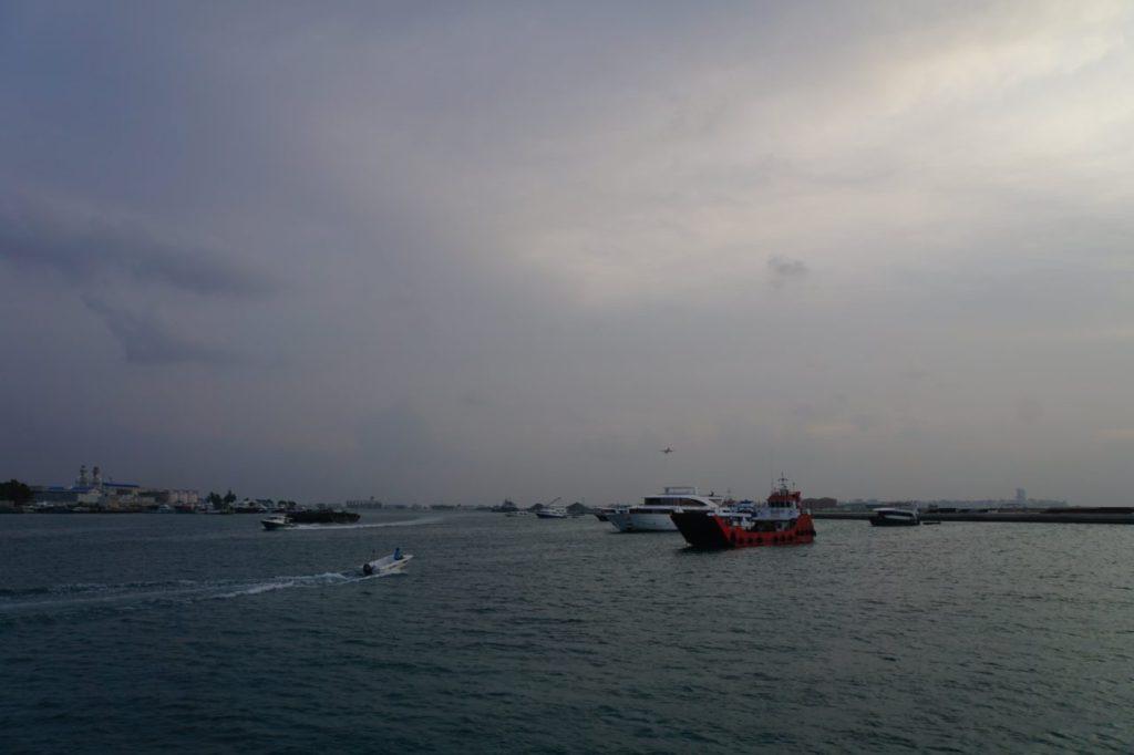 モルディブのマーレ港
