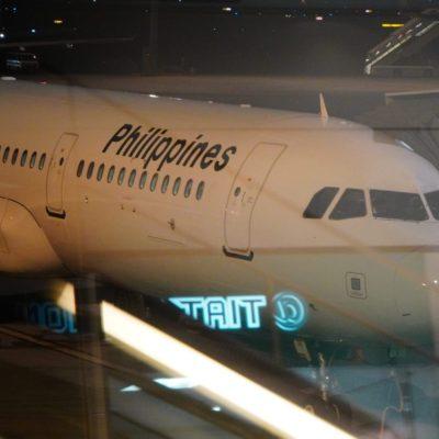 今回のボホールダイビングはフィリピン航空で全部空路!!羽田空港からマニラ経由でボホール島へ