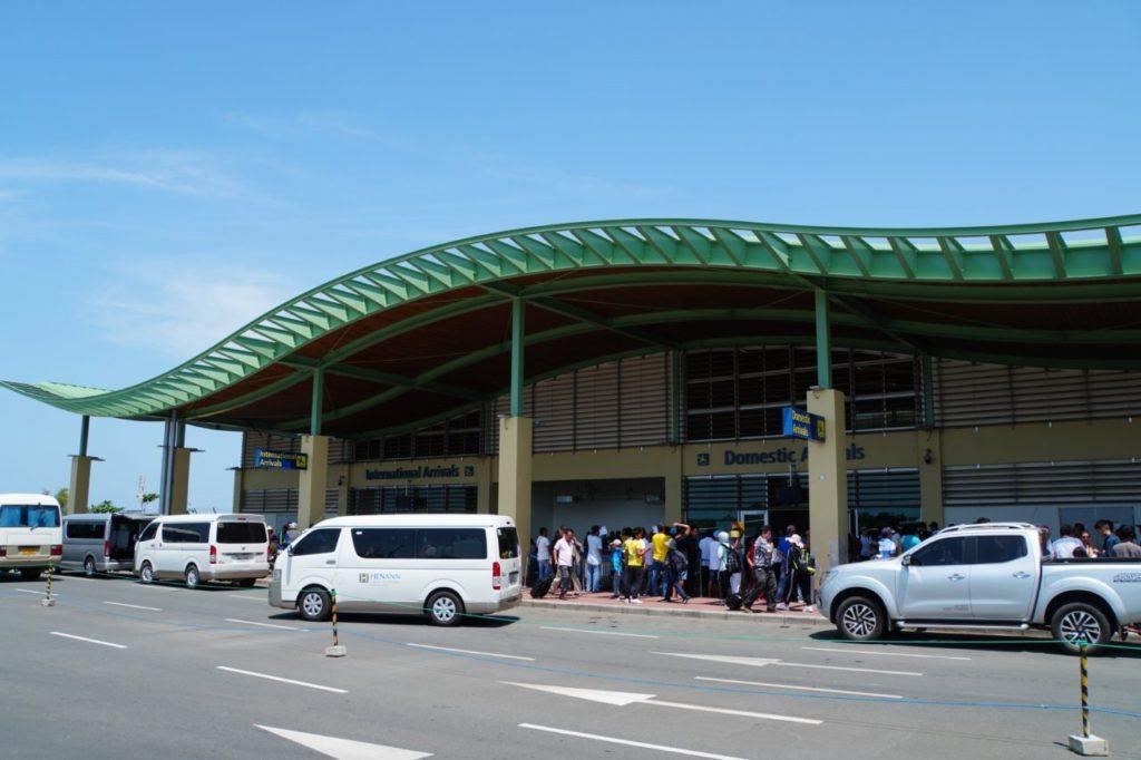 ボホール-パングラオ国際空港の外観