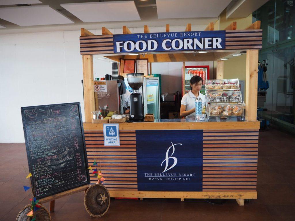 ボホール-パングラオ国際空港のコーヒーショップ