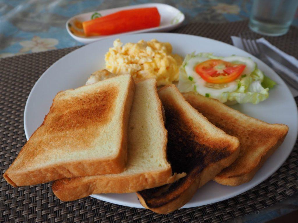 ノバビーチの朝食