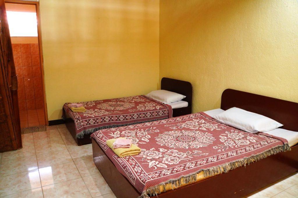 ノバビーチデラックスのベッド
