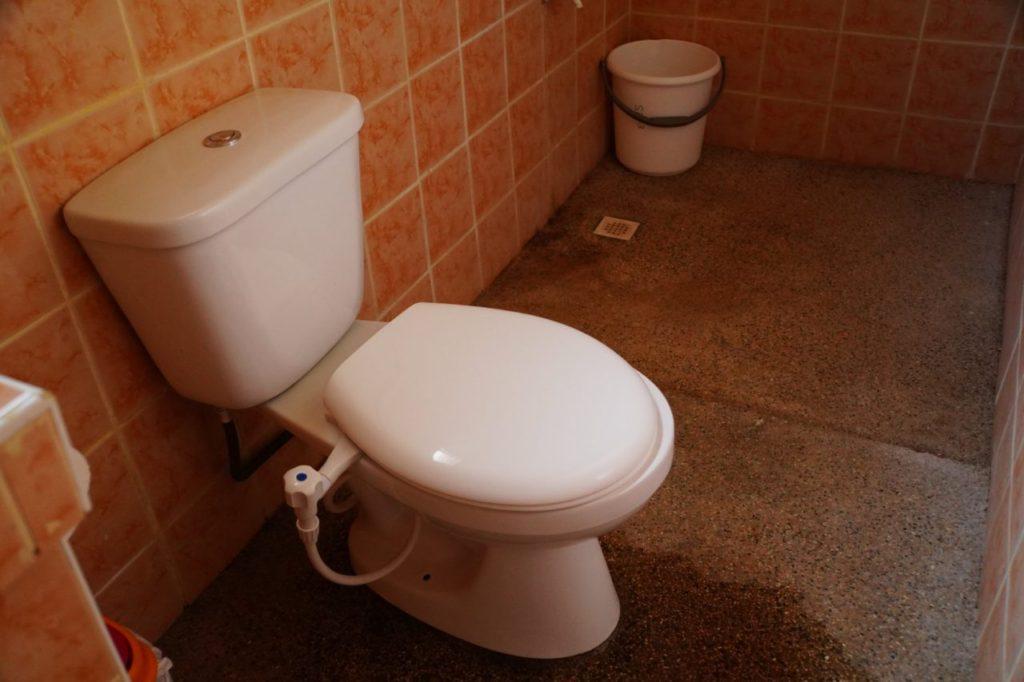 ノバビーチセミデラックスのトイレ