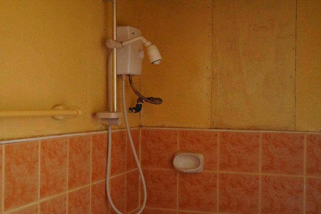 ノバビーチセミデラックスのシャワー