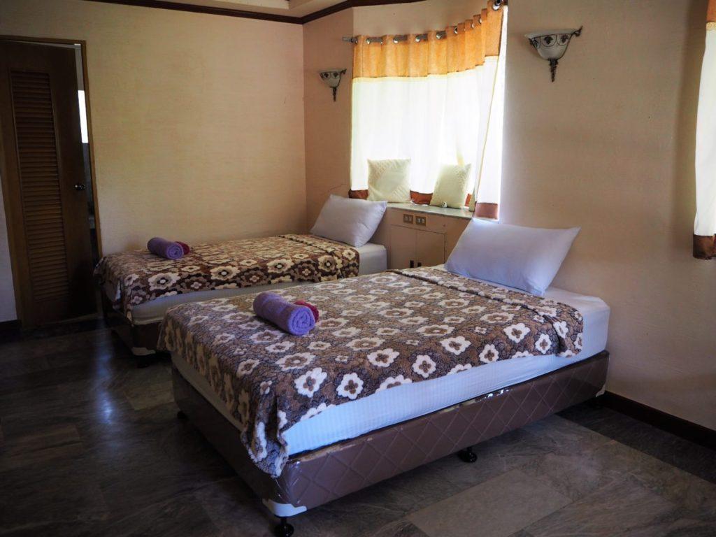 ノバビーチトレスヴィラのベッド