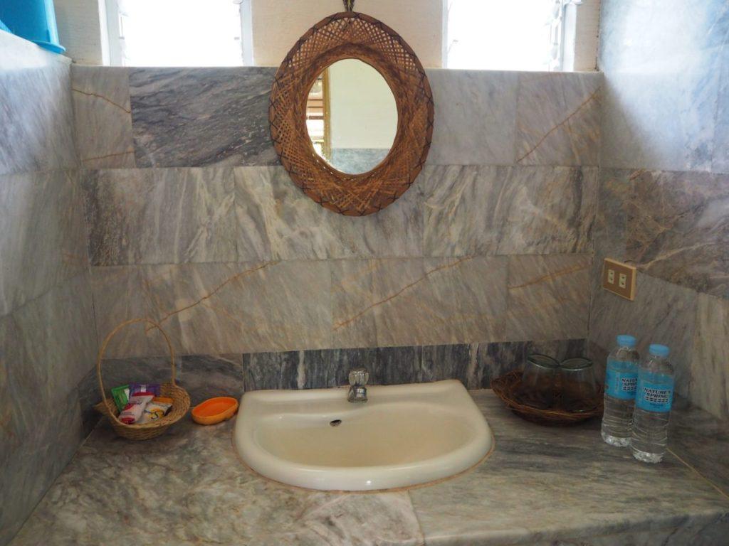 ノバビーチトレスヴィラの洗面台