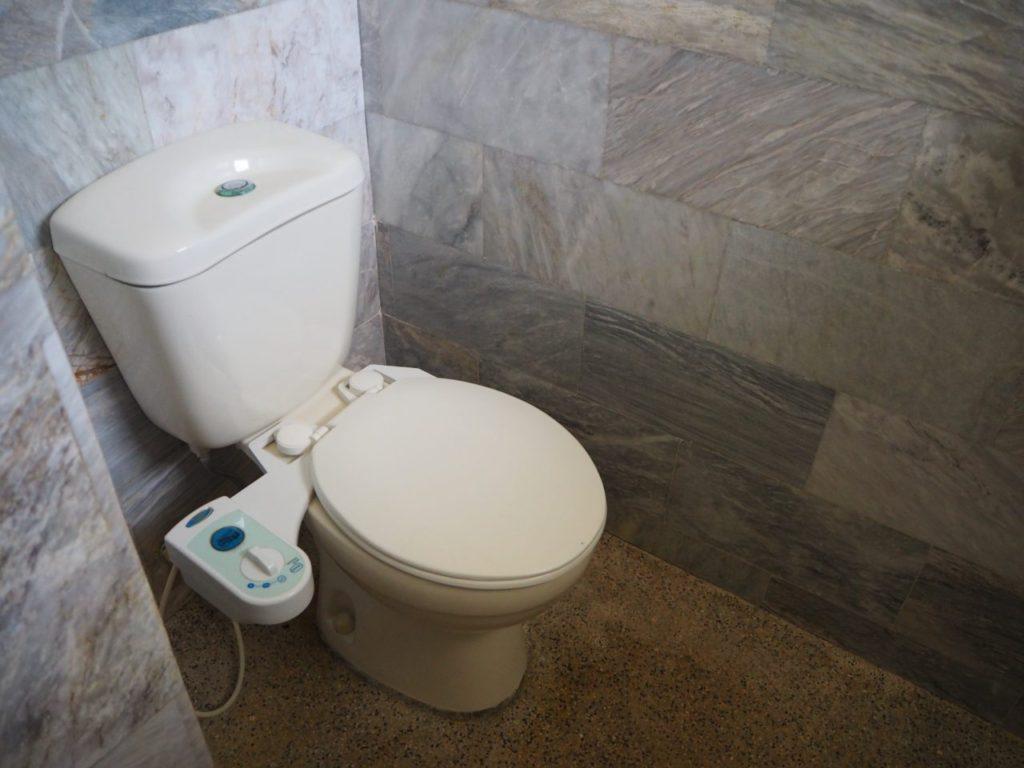 ノバビーチトレスヴィラのトイレ