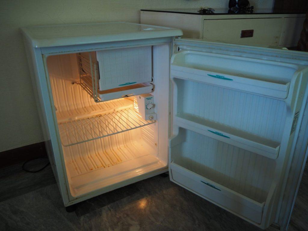 ノバビーチトレスヴィラの冷蔵庫